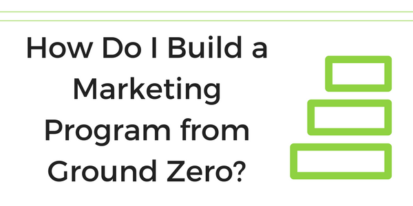 build out marketing program