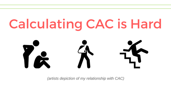 calculating cac issues